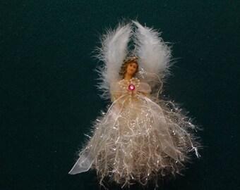 elegant Hand made Angel ornament