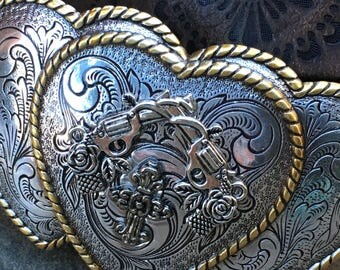 belt buckle heart belt buckle guns pistols belt buckle  bohemian belt buckle floral engraved belt buckle western belt buckle cowgirl cross