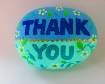 "Painted Rock ""THANK YOU"""
