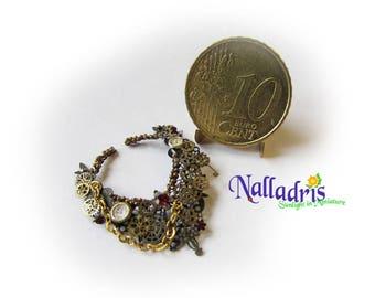 Miniature Steampunk Necklace