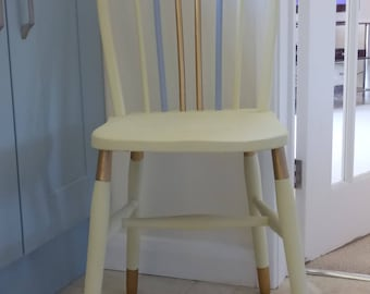 1960s Refurbished Six Spindle Windsor Dining Chair