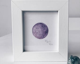 Framed Mini Moon Limited Edition Number 6/10