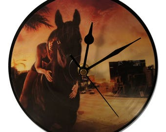 "RED HOT CHILI PEPPERS ""DANI CALIFORNIA"" VINYL clock 45tours"