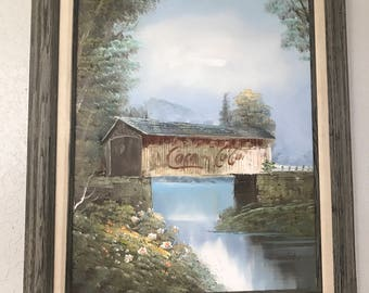 Sale* Original oil painting by Enderby, Coca Cola,
