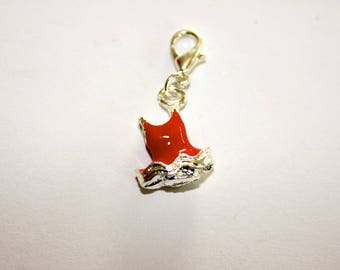 Red dress charms