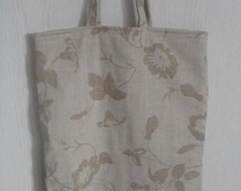 tote bag - shopping - bag - flowers