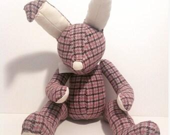 Harris Tweed Flora&Fauna Bunny
