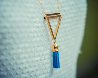 "Necklace geometric - ""Cayuse"" - Elegant & refined"