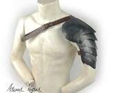 Old steel scales shoulder...