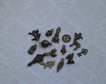 lot charms Charm bronze