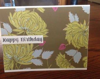 Textured birthday card (4)