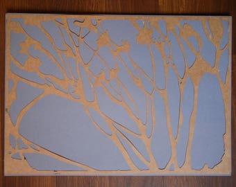Lasercut Dried Flowers