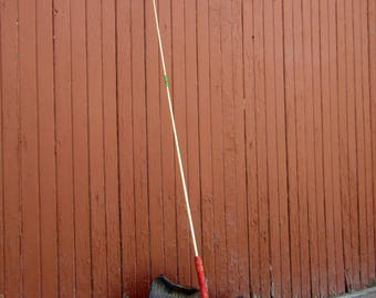 Fishing Pole; Vintage Children's Wooden Handled Fishing Pole