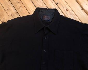 Pendleton Wool Shirt Button Down Virgin Wool Made in USA