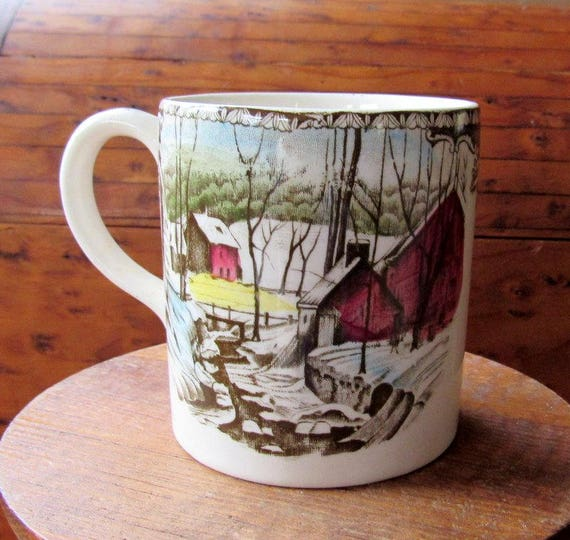 Friendly Village Small Size Mug Two Available