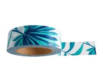 Washi Tape / Paper Tape / Masking Tape / MT Botanical Tropical Leaves