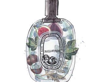 Perfume Print Diptyque Philosykos