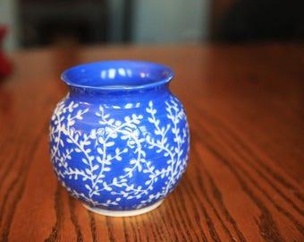 Porcelain Vine Vase, Wheel Thrown Ceramic Vase, Flower Vase, Unique Vase, Pottery Vase, Wheel Thrown Vase, Wheel Thrown Pottery