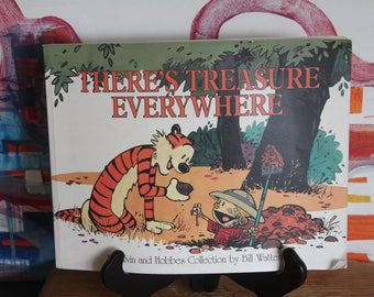 """Gorgeous Classic CALVIN AND HOBBES Collection :There's Treasure Everywhere"""""""