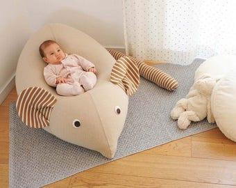 Kids Furniture Baby Bean Bag Pillow Nursery Decor Mouse Beanbag