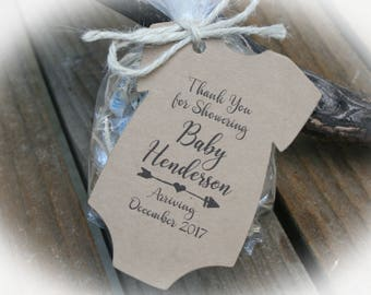 Baby Shower Favor Tags or KitsTags ONLY or kits with Bags & Twine | Baby shower Favors- OFT-101
