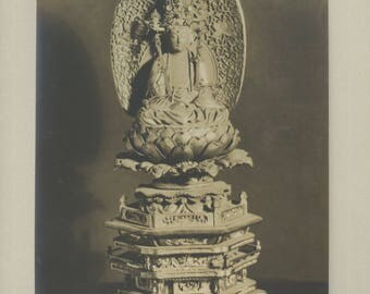 Guanyin, Goddess of Mercy - Vintage Photographic print.