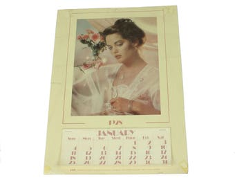 70s Calendar 1928 Jewelry Company Vintage 70s Advertising Collectible