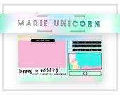 Youtube Channel Art | Rainbow Logo Design | Watermark Design | Vlog Cover Design | Youtube Branding Kit | Youtube Branding Package | Banner