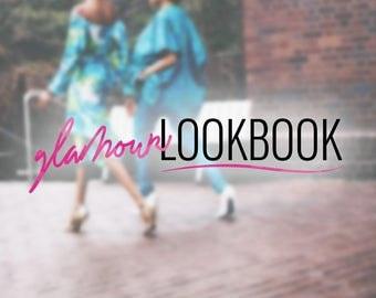 Premade Pink Logo Design   Fashion Logo Design   Beauty Logo Design   Pink Black Logo   Fashion Blog Design   Beauty Blog Design   Branding