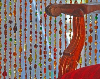 Door Beaded Curtains, Door Beads, Door Curtain, Door Beads Curtain, Room  Divider