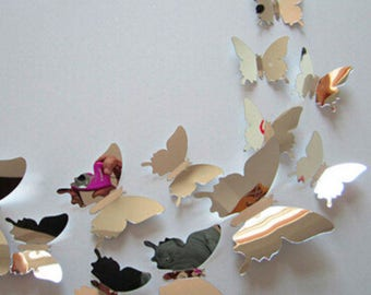 3d Butterfly Wall Art