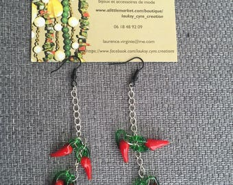 Earring chili for woman or teen ethnic for all your required a unique style