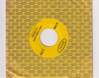 "1965 For Your Love 45 RPM 7"" Record Single 5-9790, The Yardbirds. Generic Sleeve, NM Record. Epic Records"
