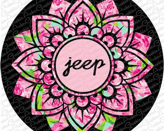 Jeep Spare Tire Cover