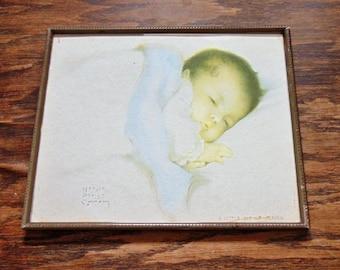 "Great Vintage / Antique "" A little bit of heaven"" by Bessie Pease Gutman"