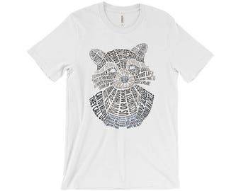 Rocket Raccoon Typography Shirt