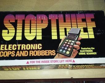 Stop Thief vintage board game 1979