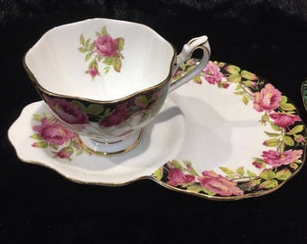 Queen anne tennis tea set