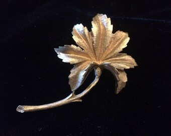 Beautiful Vintage & Spectacularly Dimensional Signed Coro Brooch!