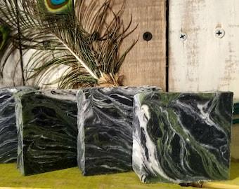 Spearmint Charcoal Sea Clay Soap