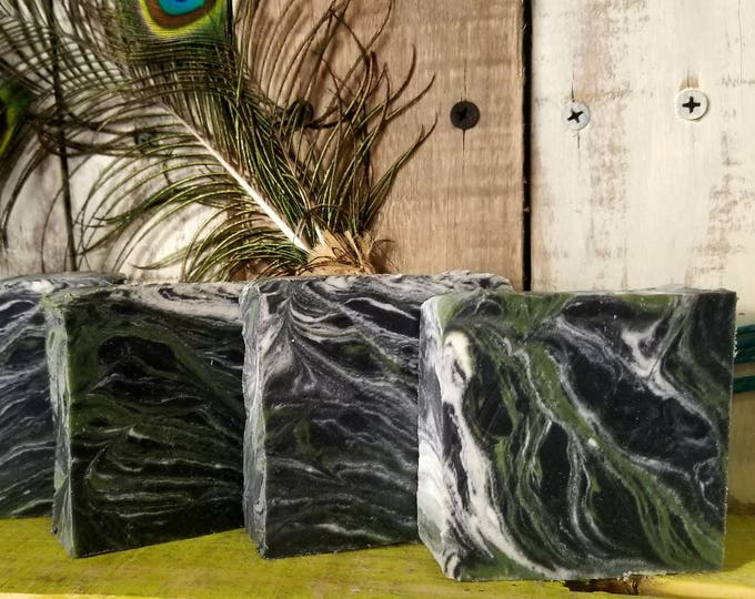 Spearmint Charcoal Sea Clay Soap
