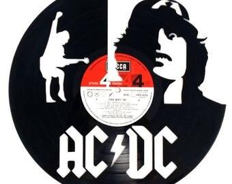 AC/DC - Vinyl Record Art