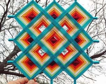 Devotion - Handmade Tibetan Mandala 3 x 3