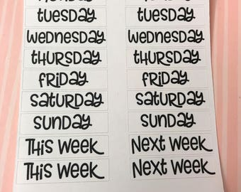 18006 Days of the week