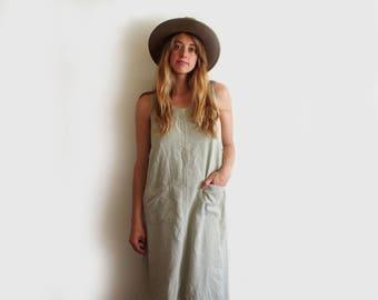 vintage tencel tank dress