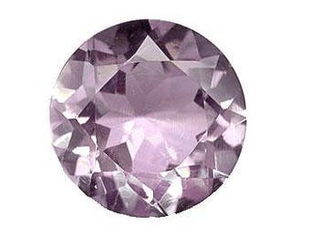 Genuine Amethyst 12mm Round Shape