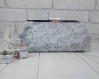 bridal clutch bag, evening bag,bridesmaids gift, handmade bag, prom bag, clutch purse