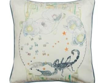 Scorpio Zodiac Cushion