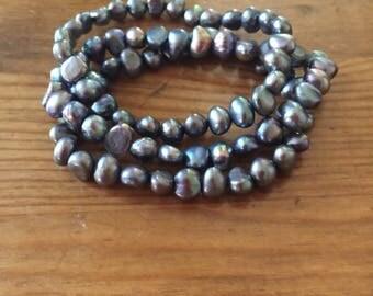 Fresh Water Pearls - 3 Individual Bracelets