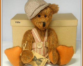 Bear collection Felix, hat and pants fit great in a world ' bear